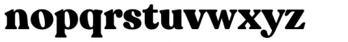 Recoleta Black Font LOWERCASE