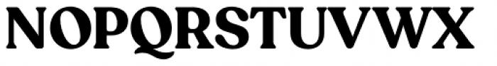 Recoleta Bold Font UPPERCASE
