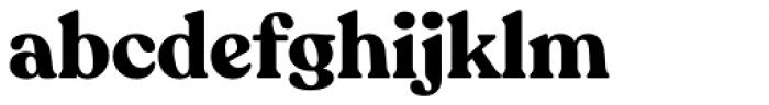 Recoleta Bold Font LOWERCASE