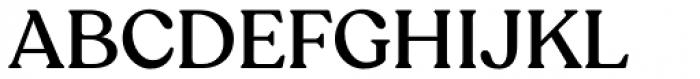Recoleta Medium Font UPPERCASE