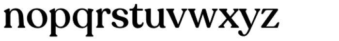 Recoleta Medium Font LOWERCASE