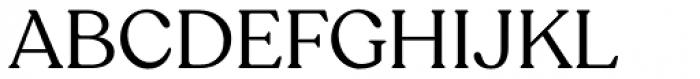 Recoleta Regular DEMO Font UPPERCASE