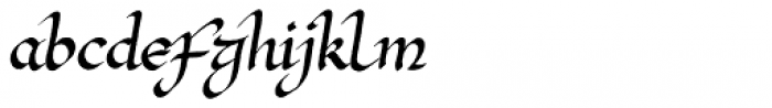 Red Amaretto Font LOWERCASE