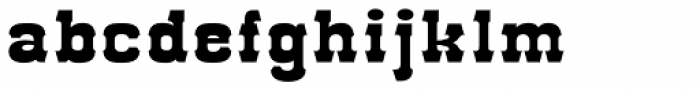 Red Dog Saloon Open Fill Font LOWERCASE