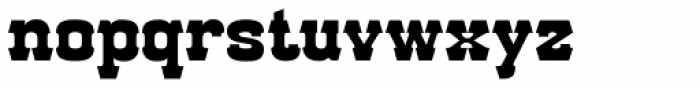 Red Dog Saloon Font LOWERCASE