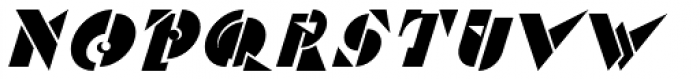 Red Klin Font UPPERCASE