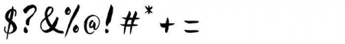 Redbird Font OTHER CHARS