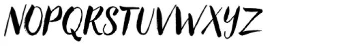 Redbird Font UPPERCASE
