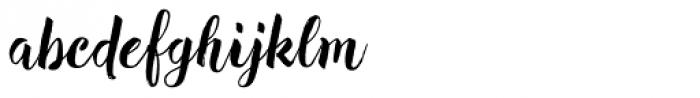 Redbird Font LOWERCASE