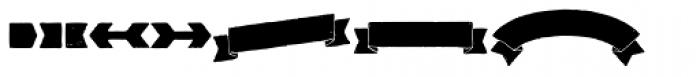 Redgar Shapes Font UPPERCASE