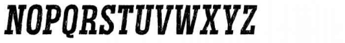 Redgar Slab Italic Font UPPERCASE
