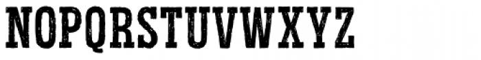 Redgar Slab Font UPPERCASE