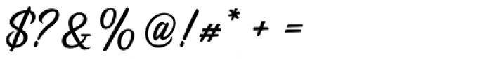 Redotika Regular Font OTHER CHARS