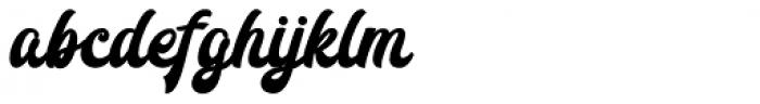Redoura Bold Font LOWERCASE