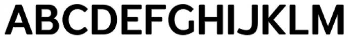 Redshift Bold Font UPPERCASE