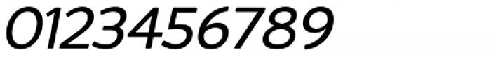 Redshift Regular Oblique Font OTHER CHARS