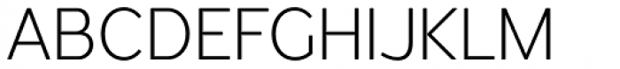 Redshift Ultra Light Font UPPERCASE
