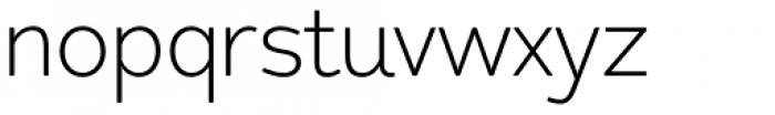 Redshift Ultra Light Font LOWERCASE