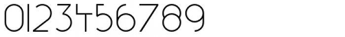 Reduza Infinity Regular Font OTHER CHARS