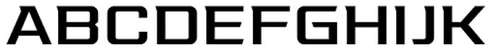 Redzone Medium Extd Font UPPERCASE