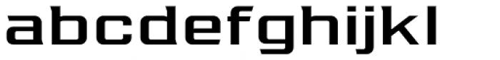 Redzone Medium Extd Font LOWERCASE