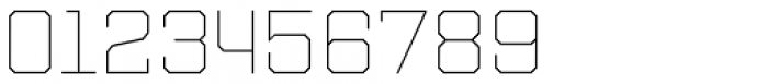 Refinery 75 Hairline Font OTHER CHARS