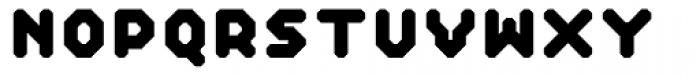 Reflector Black Font UPPERCASE