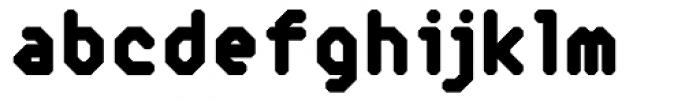 Reflector Black Font LOWERCASE
