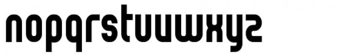 Reflex Black Font LOWERCASE