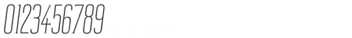 Reformer Serif Light Italic Font OTHER CHARS