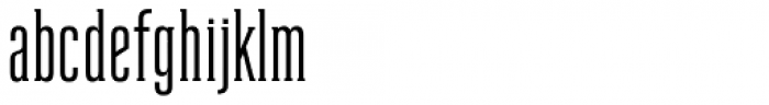 Reformer Serif Semi Bold Font LOWERCASE