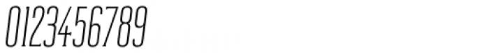 Reformer Serif Semi Light Italic Font OTHER CHARS