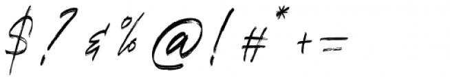 Refresh Screen Regular Font OTHER CHARS