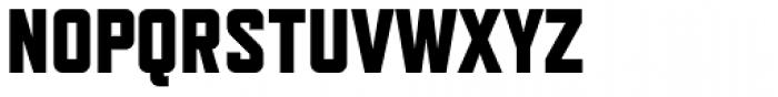 Refrigerator Deluxe Heavy Font UPPERCASE