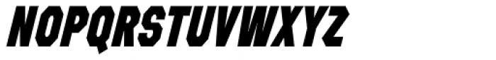 Refuel Condensed ExtraBold Italic Font UPPERCASE