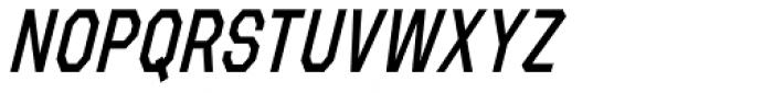 Refuel Condensed Italic Font UPPERCASE