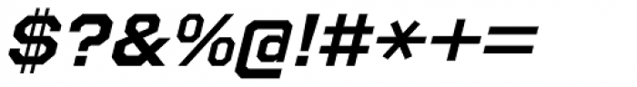 Refuel Expanded Bold Italic Font OTHER CHARS