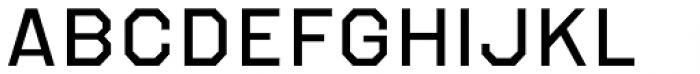 Refuel Expanded Regular Font UPPERCASE