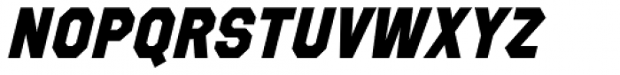 Refuel ExtraBold Italic Font UPPERCASE