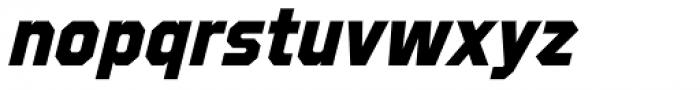 Refuel ExtraBold Italic Font LOWERCASE