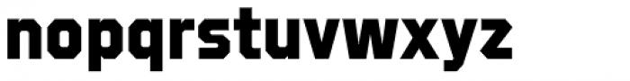 Refuel ExtraBold Font LOWERCASE