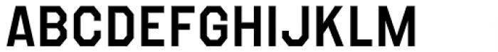 Refuel SemiBold Font UPPERCASE