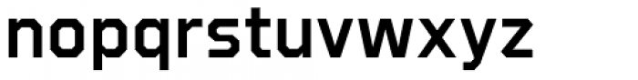 Refuel SemiBold Font LOWERCASE
