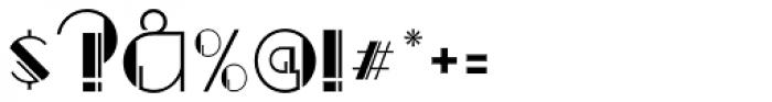 Regal Suite JNL Font OTHER CHARS