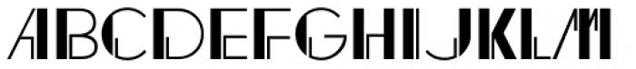 Regal Suite JNL Font UPPERCASE