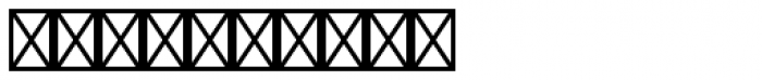Regalia Basic Stamped Font OTHER CHARS