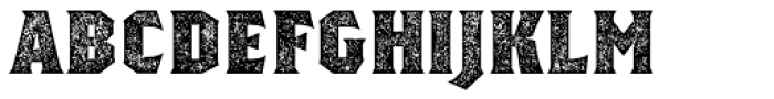Regalia Basic Stamped Font UPPERCASE