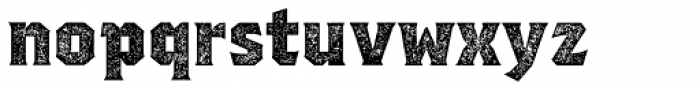 Regalia Basic Stamped Font LOWERCASE