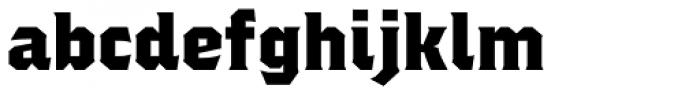 Regalia Basic Font LOWERCASE