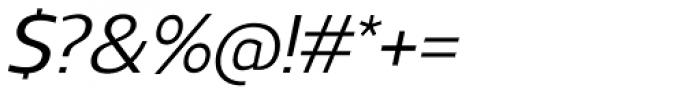 Regan Alt Medium Italic Font OTHER CHARS